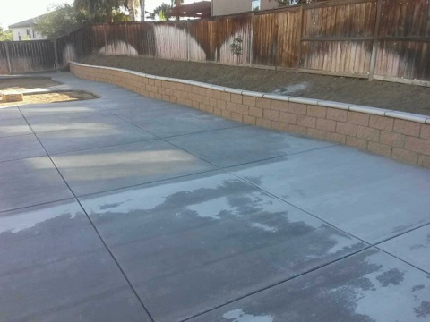 Our Work - Your Local Concrete Contractor • Block Walls ...